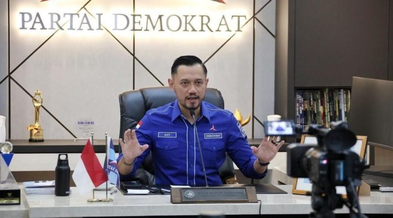 AHY Bantah Pernah Tuding Pemerintah Terlibat di KLB Partai Demokrat